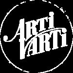 Logo Artivarti Bianco